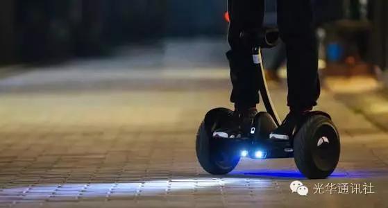 上海严查电动平衡车滑板车 上路行驶就罚款